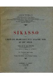 MENIAUD Jacques - Sikasso ou l'histoire dramatique d'un royaume noir au XIXème siècle