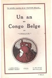 CHALUX - Un an au Congo Belge