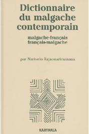 RAJAONARIMANANA Narivelo - Dictionnaire du Malgache contemporain (Malgache-Français et Français-Malgache)