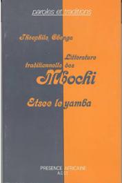 OBENGA Théophile - Littérature traditionnelle des Mbochi (Congo - Afrique centrale) Etsee le Yamba