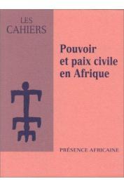 Collectif - Pouvoir et paix civile en Afrique