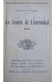 BONNEAU Albert - Le secret de l'Aménokal