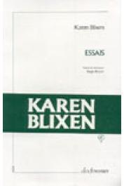 BLIXEN Karen - Essais