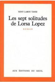 SONY LABOU TANSI - Les sept solitudes de Lorsa Lopez