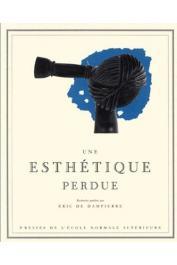 DAMPIERRE Eric de, (éditeur) - Une esthétique perdue: harpes et harpistes du Haut-Oubangui