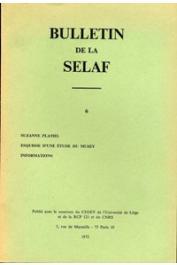 PLATIEL Suzanne ou PLATIEL Suzy - Esquisse d'une étude du musey