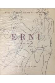 GABUS Jean - Les fresques de Hans Erni ou la part du peintre en ethnographie (Musée d'ethnographie de Neuchâtel)