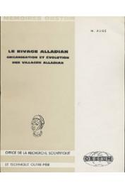 AUGE Marc - Le rivage alladian. Organisation et évolution des villages alladian