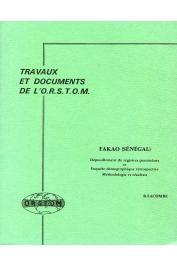 LACOMBE Bernard - Fakao (Sénégal), dépouillement de registres paroissiaux et enquête démographique rétrospective: méthodologie et résultats