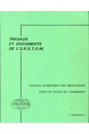MARGUERAT Yves - Analyse numérique des migrations vers les villes du Cameroun