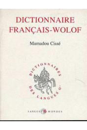 CISSE Mamadou - Dictionnaire français-wolof