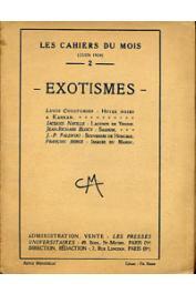 LES CAHIERS DU MOIS - 02 - Exotismes