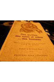 GOUZY René - Des gorilles, des nains et même…. des hommes: histoires de la grande forêt, de la brousse et de la Côte africaines
