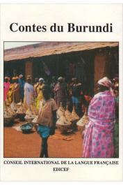 RODEGEM François-Marie, (éditeur) - Contes du Burundi