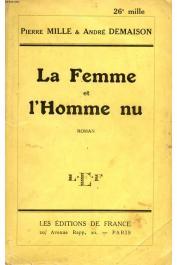 MILLE Pierre, DEMAISON André - La femme et l'homme nu