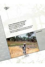 BOIVIN Pascal - Caractérisation physique des sols sulfatés acides de la vallée de Katouré (basse Casamance. Sénégal): étude de la variabilité spatiale et relations avec les caractéristiques pédologiques
