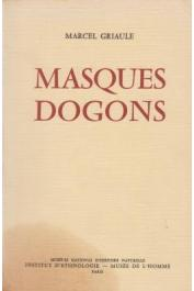 GRIAULE Marcel - Masques dogons