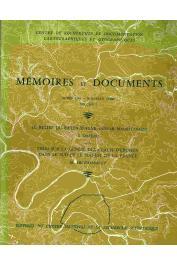 DAVEAU Suzanne, ARCHAMBAULT M. - Le relief du Baten d'Atar (Adrar mauritanien) suivi de Essai sur la genèse des glacis d'érosion dans le sud et le sud-est de la France