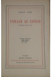 GIDE André - Voyage au Congo. carnets de route (édition originale)