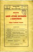 Bulletin du comité d'études historiques et scientifiques de l'AOF - Tome 15 - n°2-3 - Avril-Septembre 1932 (BCEHSAOF)