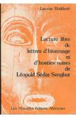 DIAKHATE Lamine - Lecture libre de Lettres d'hivernages et de Hosties noires de Léopold Sedar Senghor