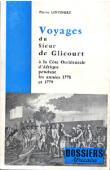 LINTINGRE Pierre - Voyages du Sieur de Glicourt à la Côte Occidentale d'Afrique pendant les années 1778 et 1779