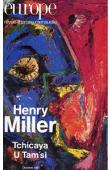 Europe - n° 750 - Henri Miller / Tchicaya U Tam'si