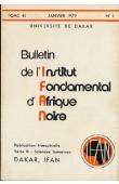 Bulletin de l'IFAN - Série B - Tome 41 - n°1 - Janvier 1979