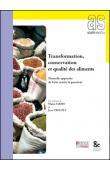 SAKHO Mama, CROUZET Jean - Transformation, conservation et qualité des aliments