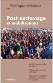POLITIQUE AFRICAINE n° 140 - Post-esclavage et mobilisations