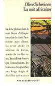 SCHREINER Olive - La nuit africaine (édition 1990)