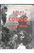 DERKINDEREN Gaston - Atlas du Congo Belge et du Ruanda-Urundi (avec jaquette)