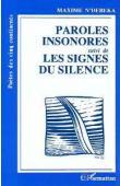 N'DEBEKA Maxime - Paroles insonores, suivi de Les signes du silence