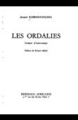 RABEMANANJARA Jacques - Les ordalies