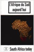 SOCIETE AFRICAINE DE CULTURE - L'Afrique du Sud aujourd'hui