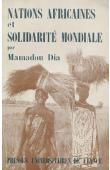 DIA Mamadou - Nations africaines et solidarité mondiale