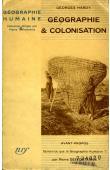 HARDY Georges - Géographie et colonisation