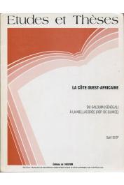 DIOP Salif - La Côte ouest-africaine du Salom (Sénégal) à la Mellacorée (République de Guinée)
