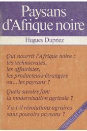 DUPRIEZ Hugues - Paysans d'Afrique noire