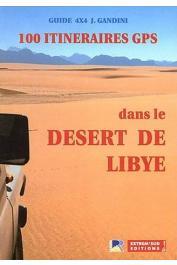 100 itinéraires GPS dans le désert de Libye