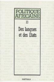 Politique africaine - 023 - Des langues et des Etats