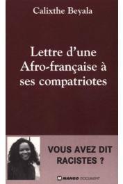 BEYALA Calixthe - Lettre d'une Afro-Française à ses compatriotes