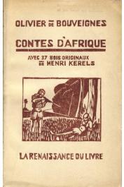 BOUVEIGNES Olivier de - Contes d'Afrique