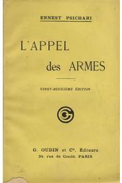 PSICHARI Ernest - L'appel des armes