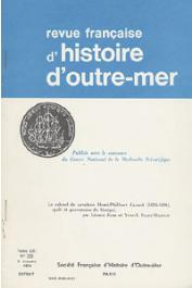 JORE Léonce, SAINT-MARTIN Yves-Jean - Le colonel de cavalerie Henri-Philibert Canard (1824-1894), spahi et gouverneur du Sénégal