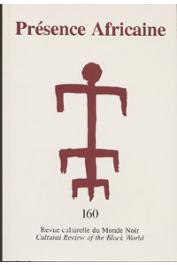 Présence Africaine - 160 - Dossier: L'excision
