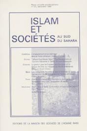 Islam et sociétés au sud du Sahara - 13 - L'enseignement privé islamique dans le Nord Cameroun / La passion pour le prophète aux Comores / Les Wangara du Nord-Bénin face à l'avancée du fondamentalisme, etc..