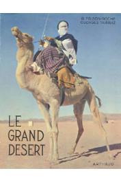 FRISON-ROCHE Roger, TAIRRAZ Georges - Le grand désert