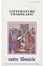 Notre Librairie - 092/093  Littérature congolaise