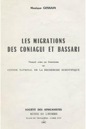 GESSAIN Monique - Les migrations des Coniagui et des Bassari